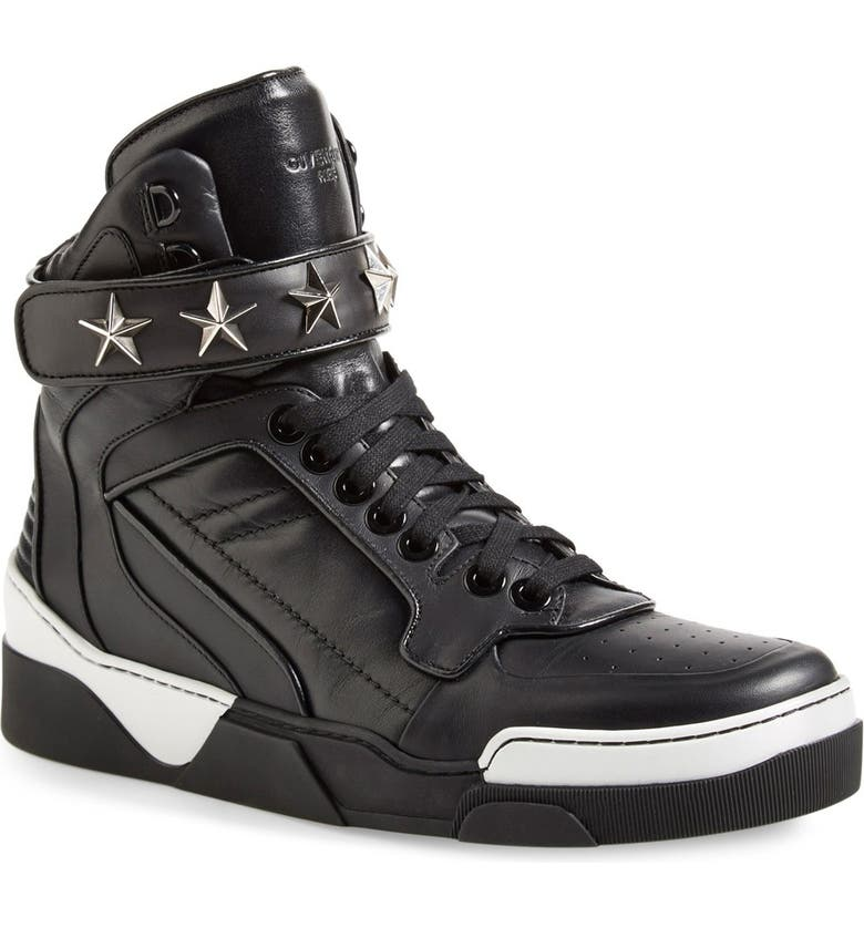 GIVENCHY 'Tyson' High Top Sneaker, Main, color, 001