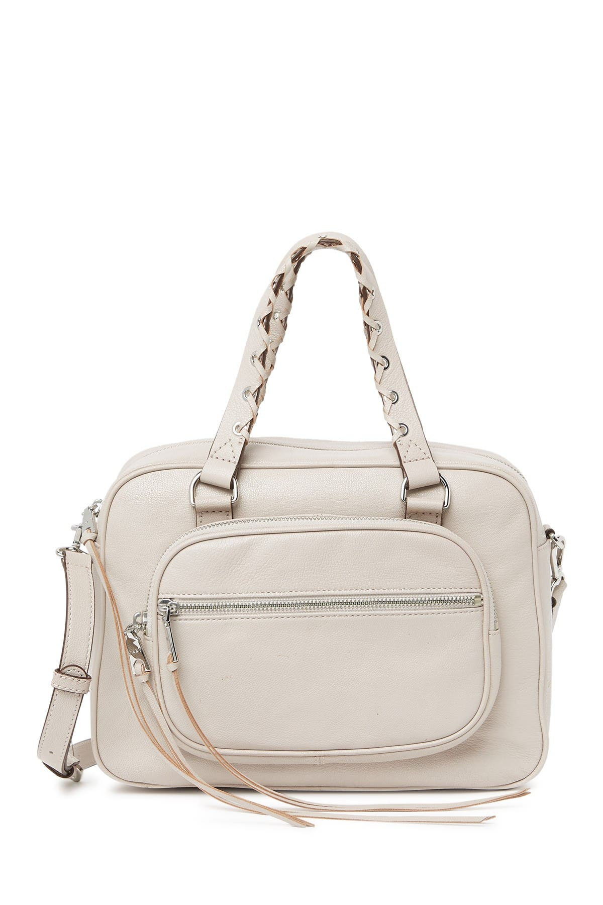 Image of DKNY Shanna Leather Satchel