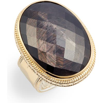 Anna Beck Oval Stone Statement Ring