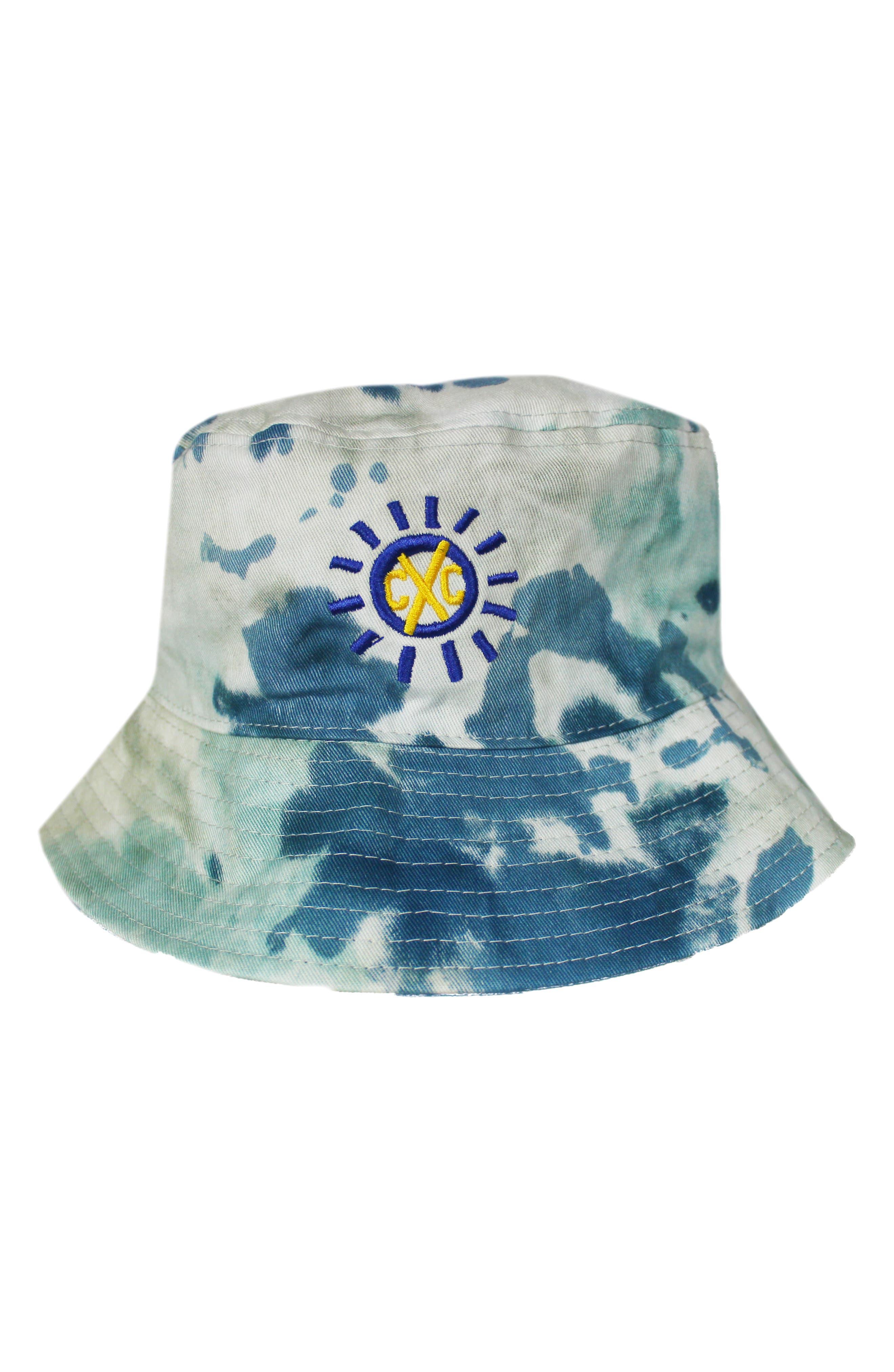 Good Vibrations Tie Dye Bucket Hat