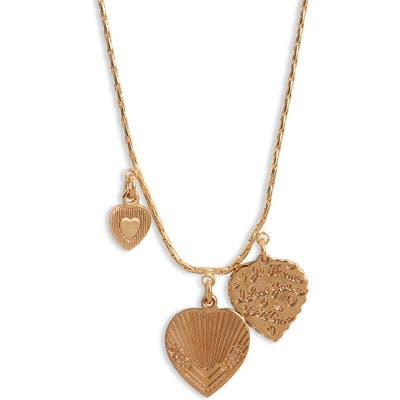 Gas Bijoux Mini Love Charm Necklace