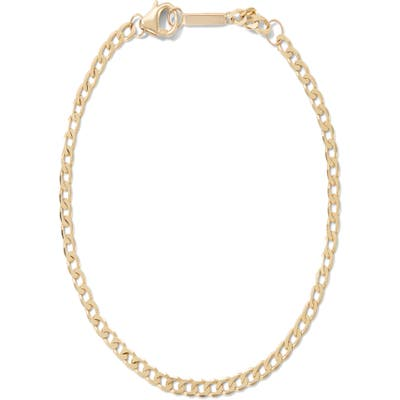 Lana Jewelry Nude Curb Chain Single Strand Necklace