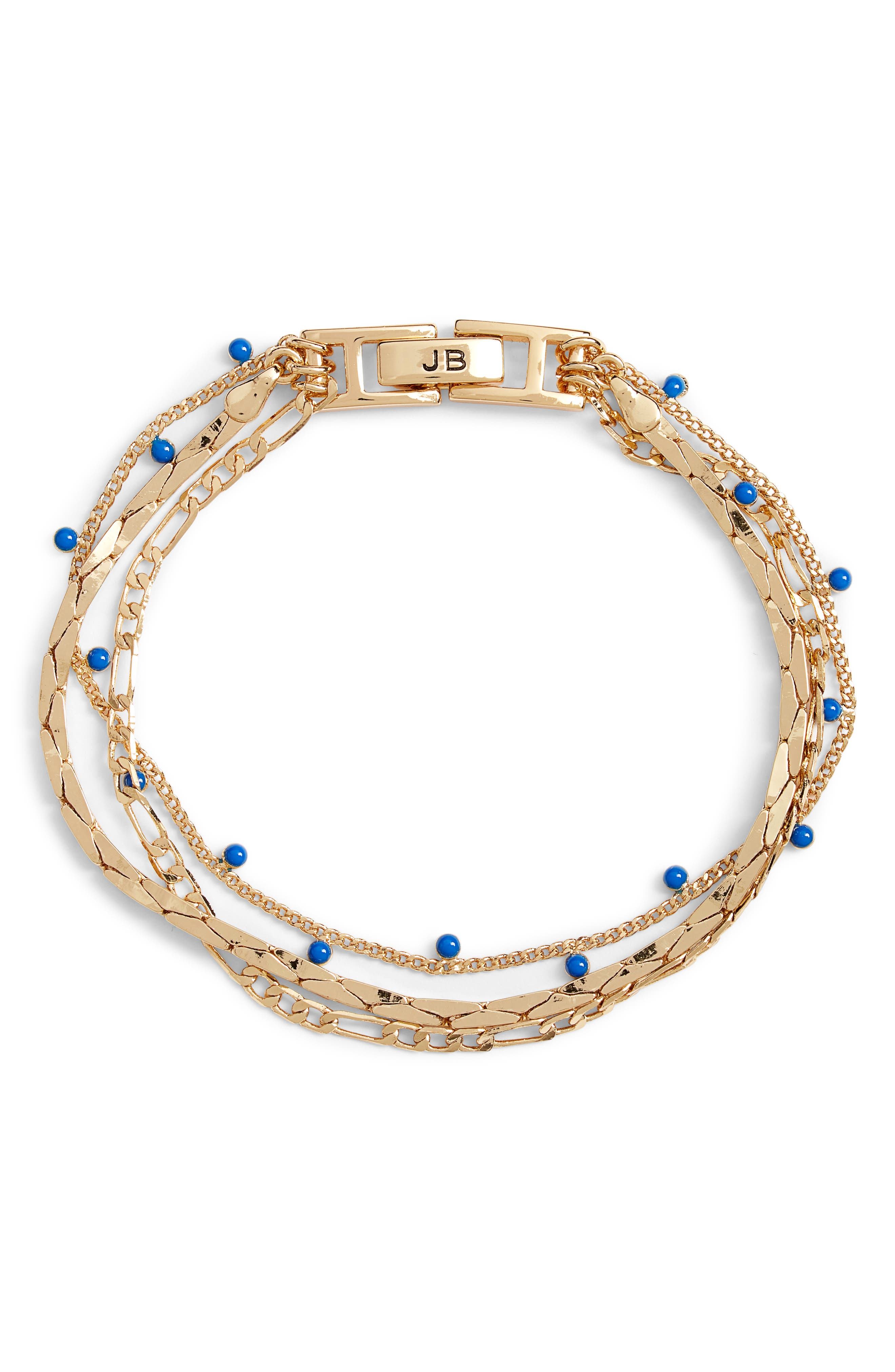 Modri Triple Strand Bracelet
