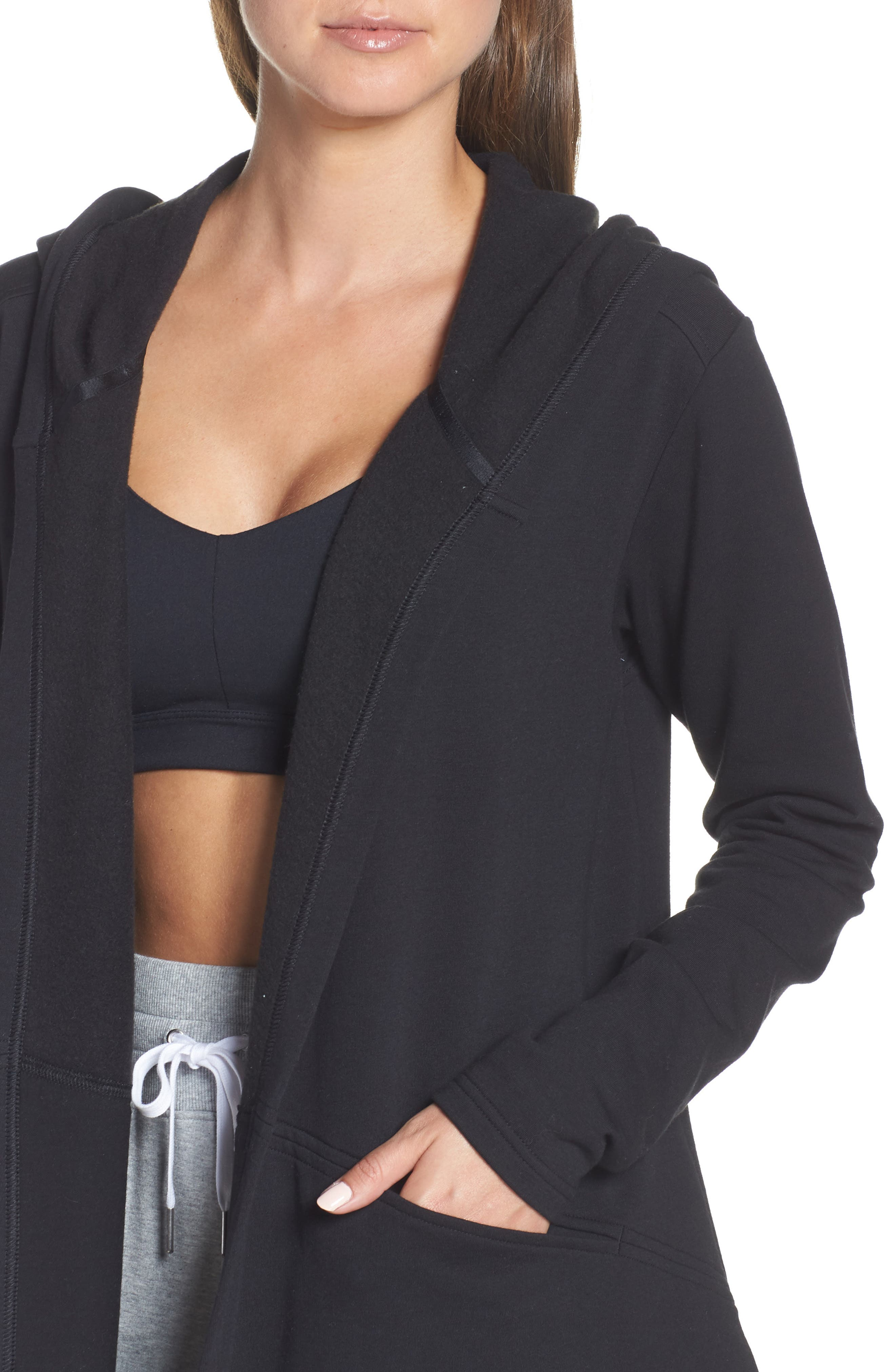 ,                             Ria Hooded Cardigan,                             Alternate thumbnail 11, color,                             002