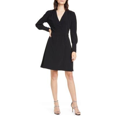 Equipment Claira Long Sleeve Dress, Black
