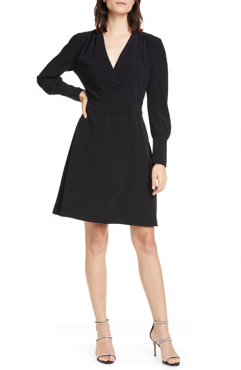 EQUIPMENT Claira Long Sleeve Dress, Main, color, 001
