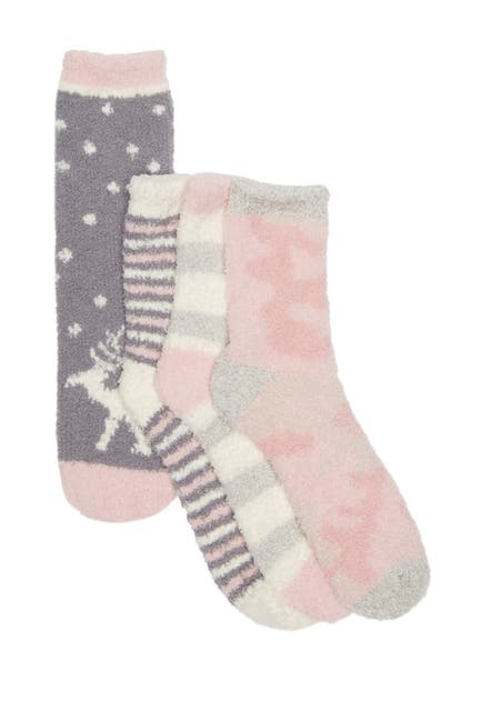 Image of Free Press Printed Butter Sock - Pack of 4