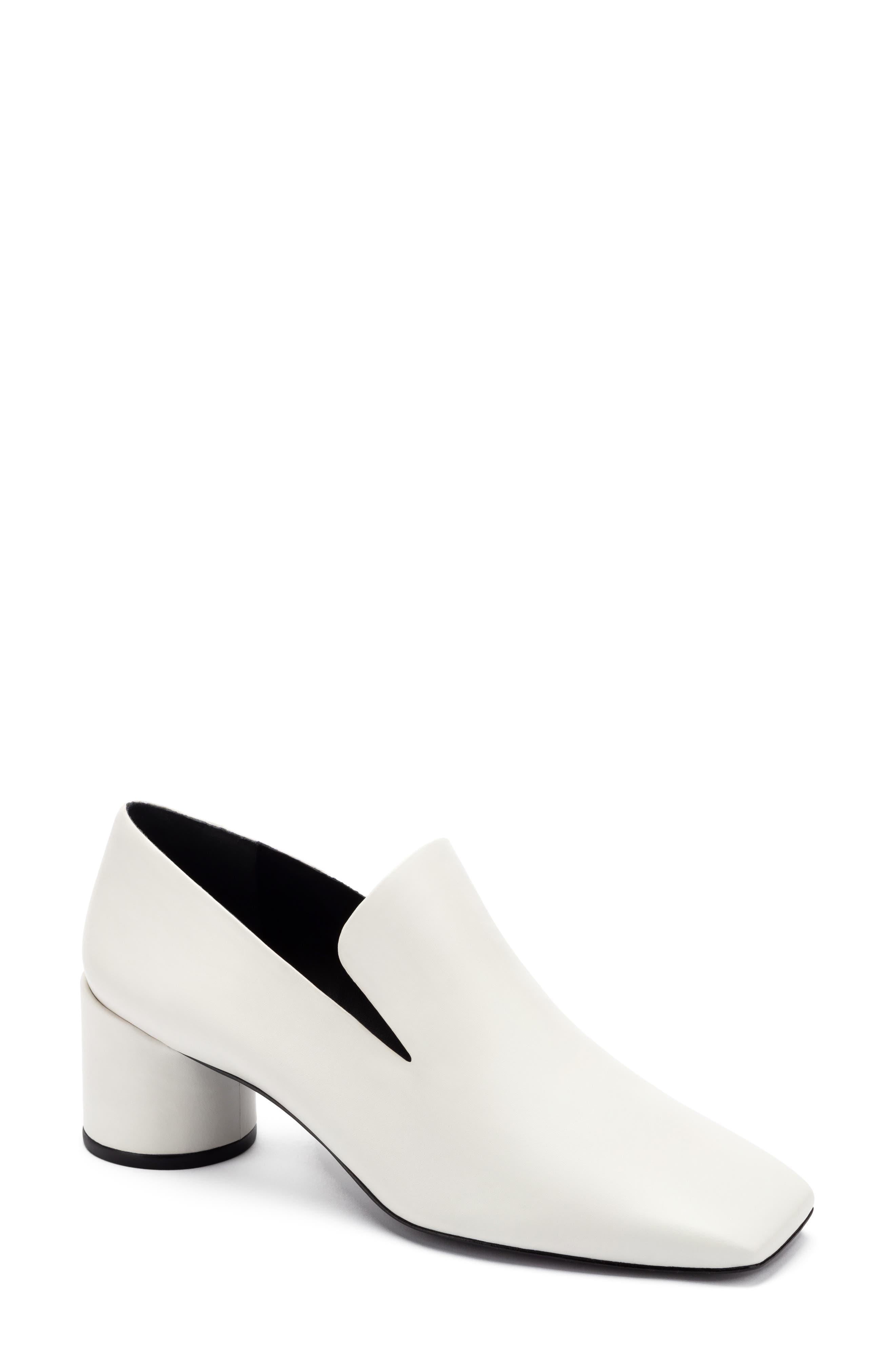 Eugenie Block Heel Loafer
