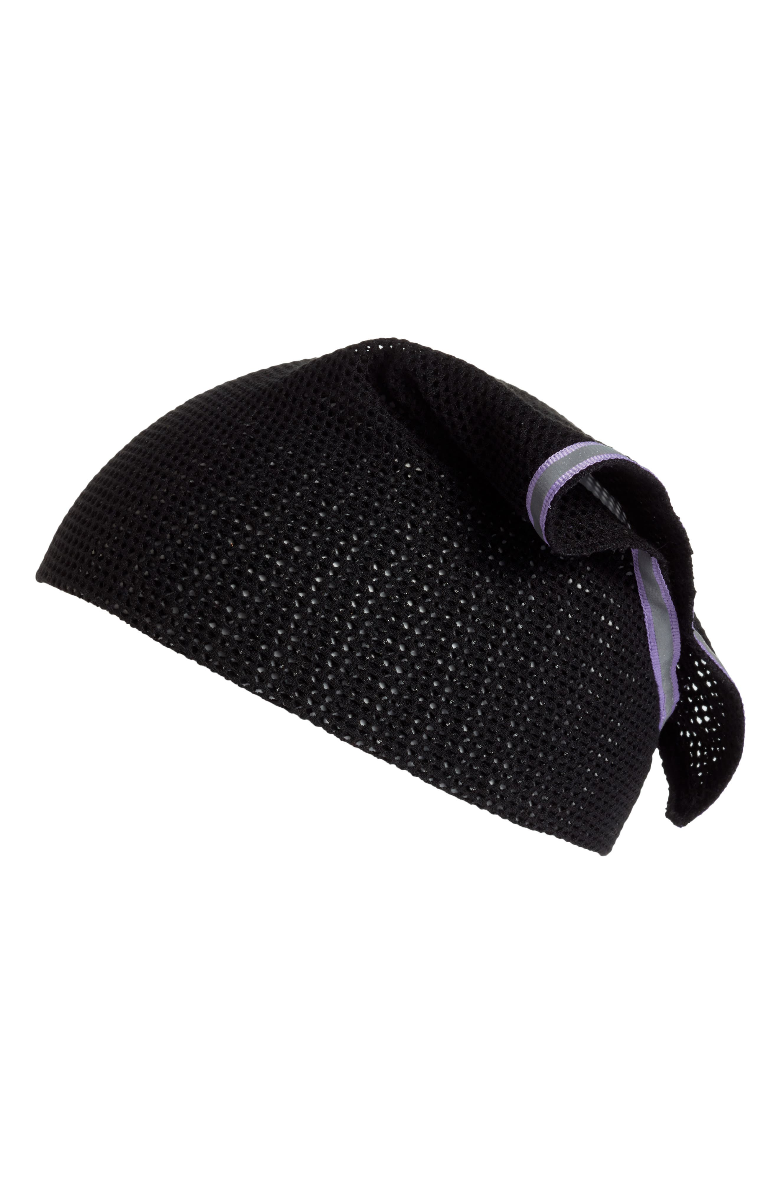 Crochet Mesh Reflector Head Wrap