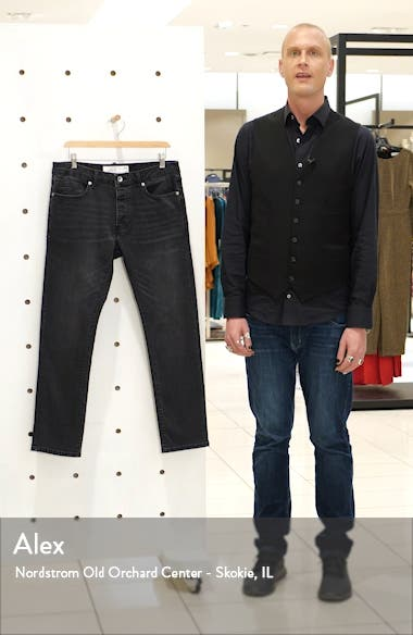 Washed Black Slim Fit Jeans, sales video thumbnail