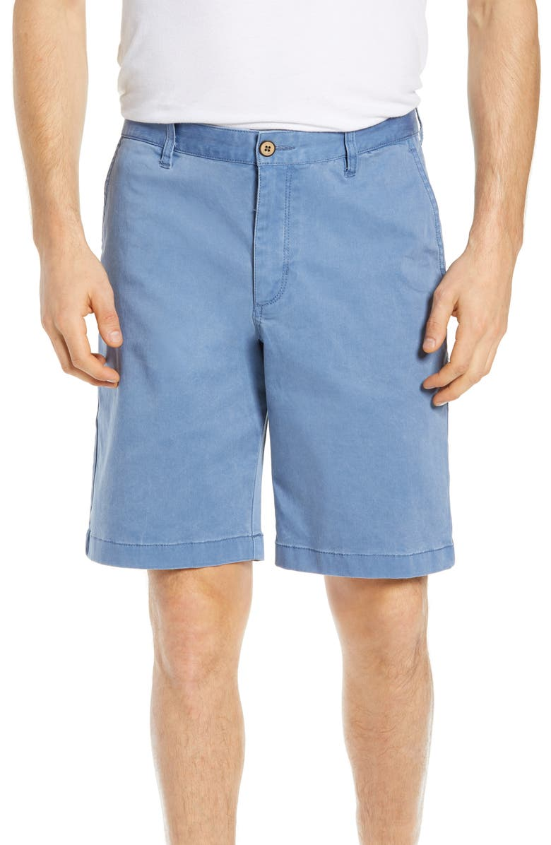 TOMMY BAHAMA Boracay Chino Shorts, Main, color, PORT SIDE BLUE