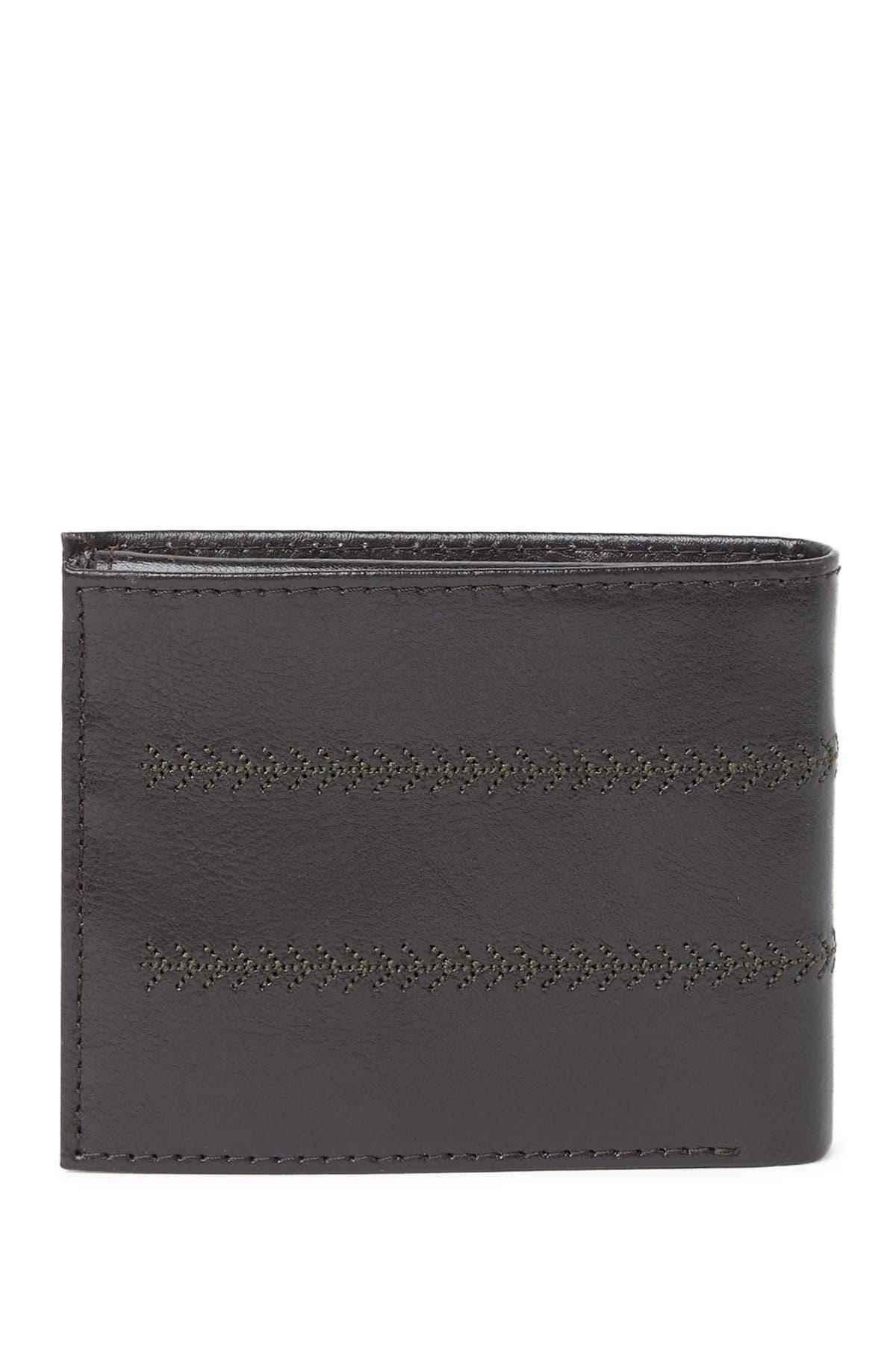 Kenneth Cole Elvis Bi-fold Wallet In Brown