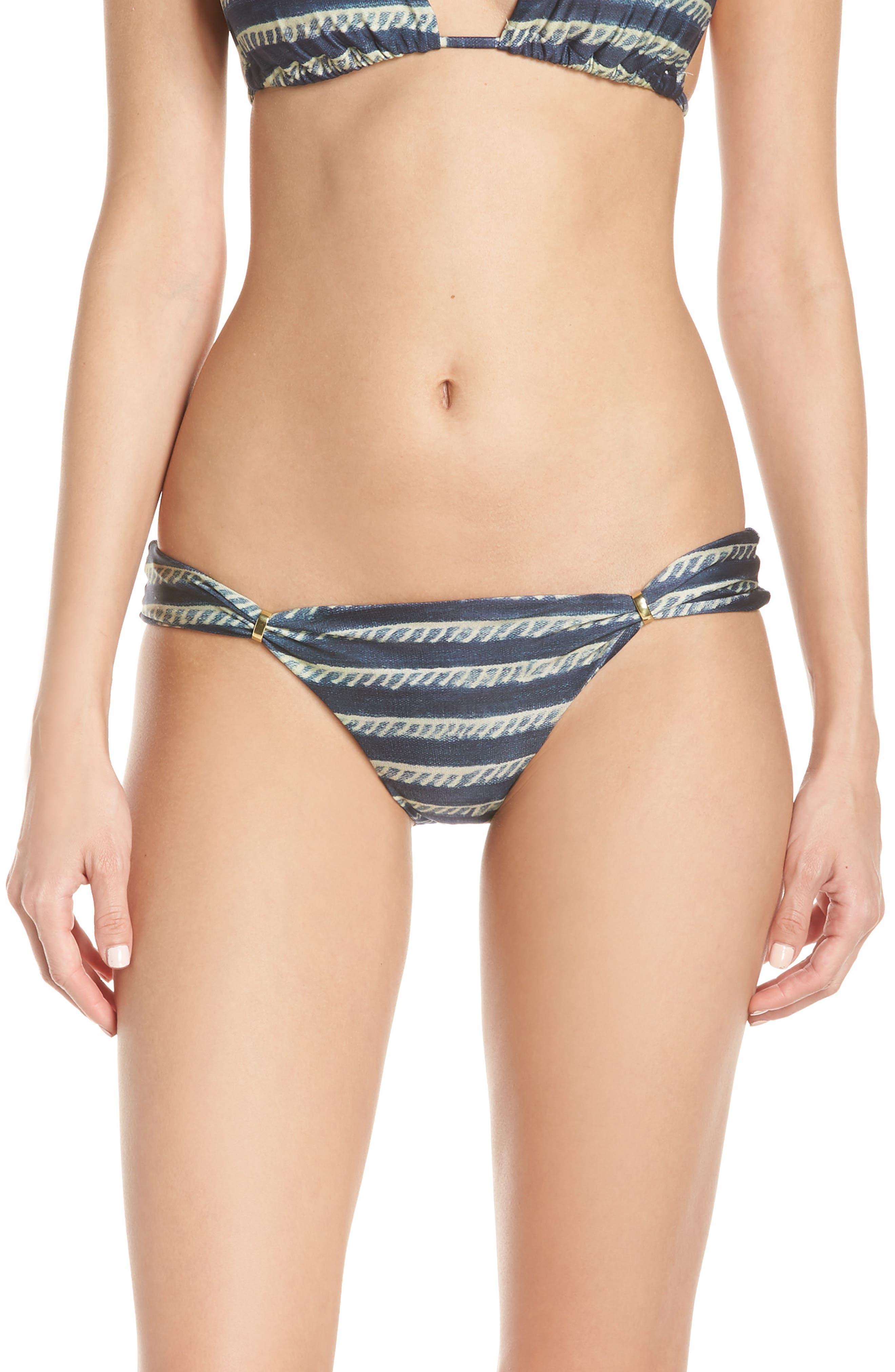 Lenny Niemeyer Adjustable Bikini Bottoms, Blue