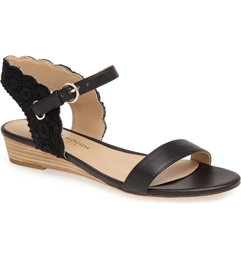 SOLE SOCIETY Julianne Hough for Sole Society 'Robyn' Sandal, Main, color, 001