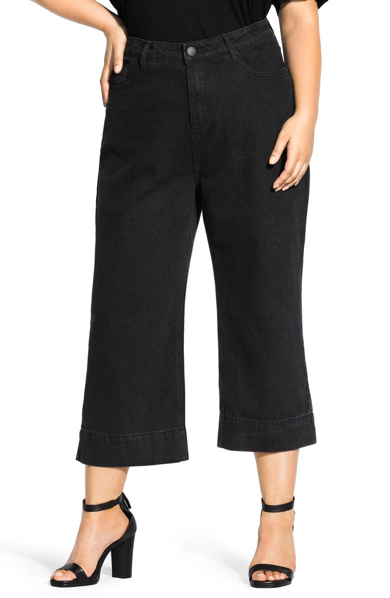 Culotte Jeans by City Chic