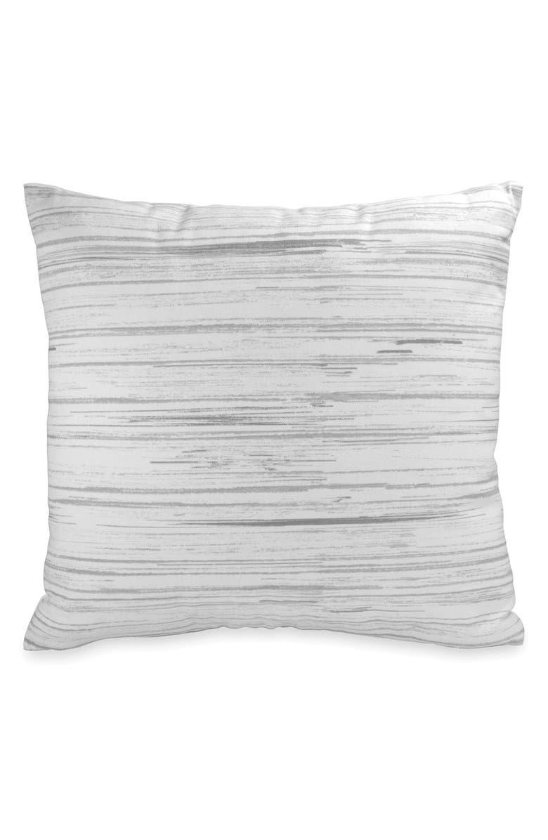 DKNY 'Loft Stripe' Pillow, Main, color, WHITE