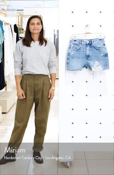 Ripped Mom Denim Shorts, sales video thumbnail