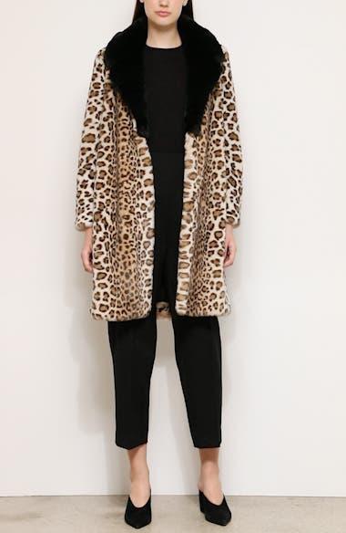 Faux Ocelot Fur Coat, video thumbnail