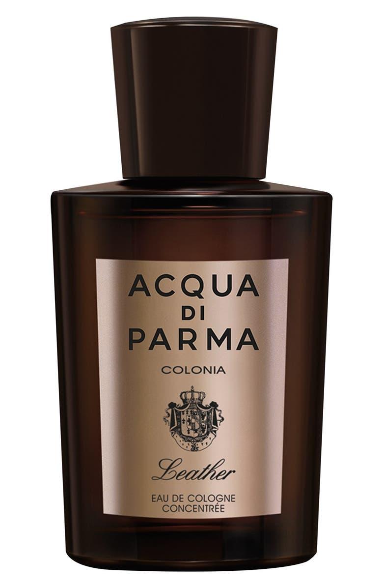 ACQUA DI PARMA 'Colonia Leather' Eau de Parfum, Main, color, NO COLOR