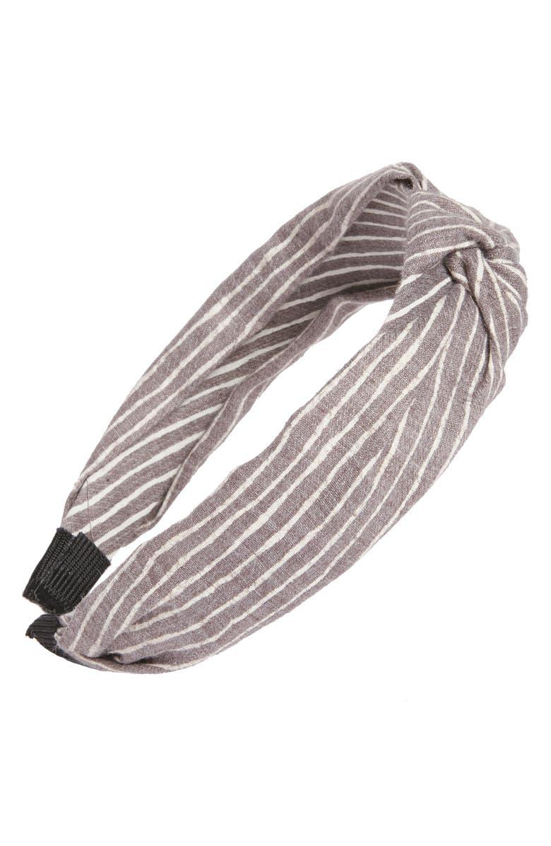CARA Knot Headband, Main, color, 020