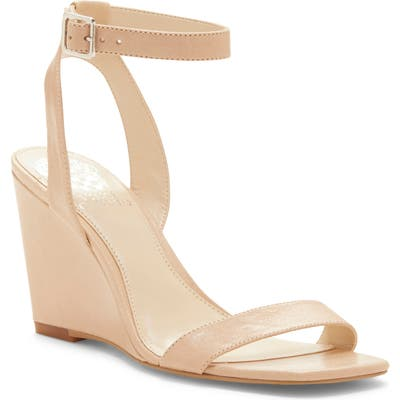 Vince Camuto Gallanna Wedge Sandal- Beige