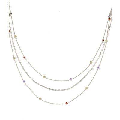 Ettika Rainbow Layered Necklace