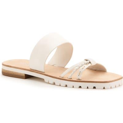 Botkier Moira Slide Sandal, White