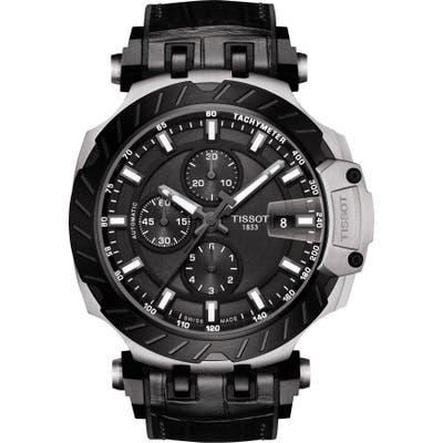 Tissot T-Sport Chronograph Webbed Strap Watch, 4m