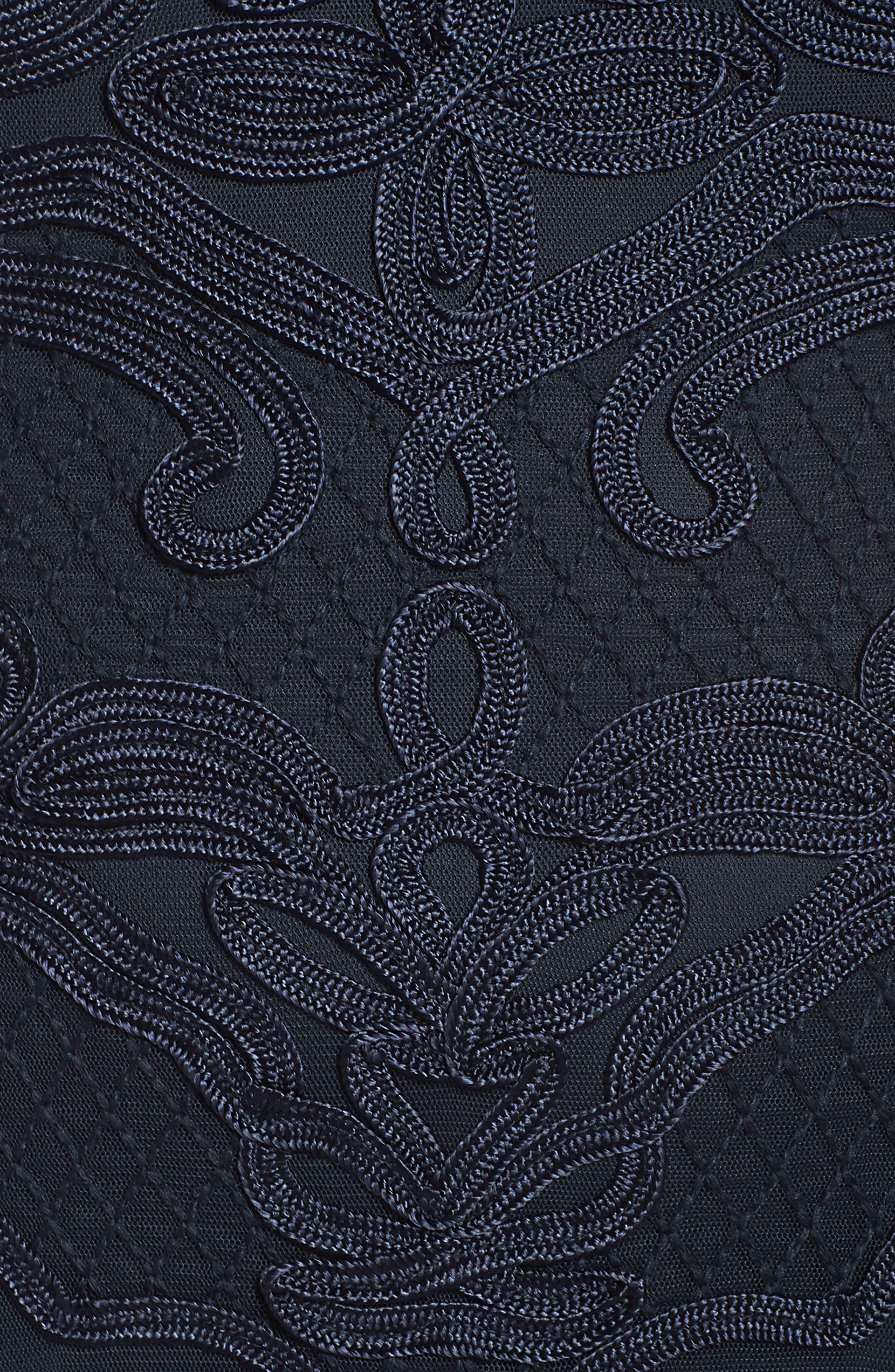 ,                             Soutache Sheath Dress,                             Alternate thumbnail 11, color,                             410