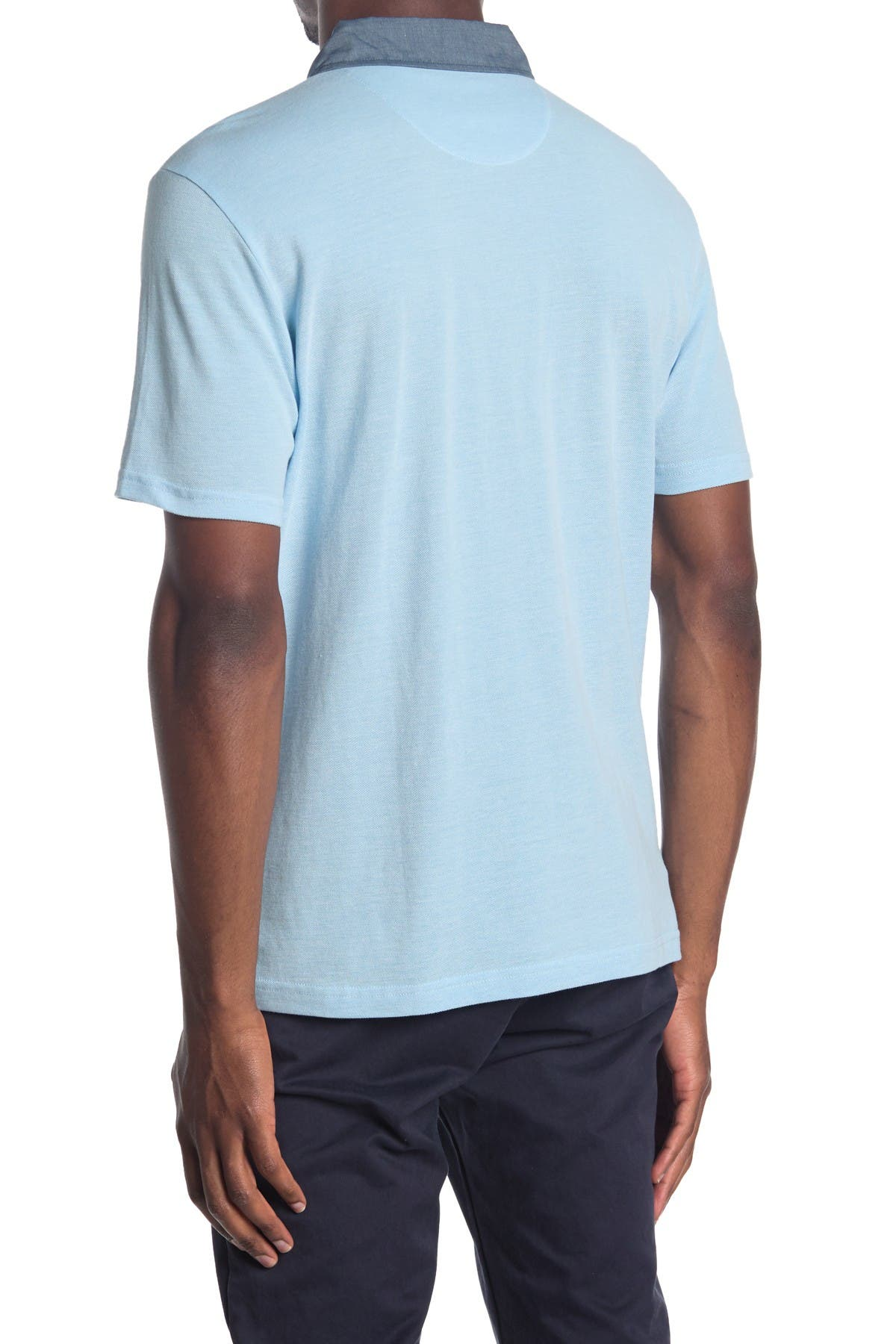 Image of Original Penguin Short Sleeve Birdseye Polo Shirt