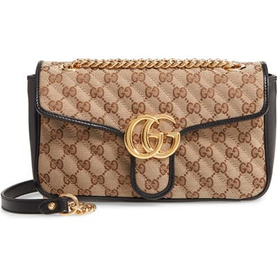 Gucci Small 2.0 Shoulder Bag - Beige