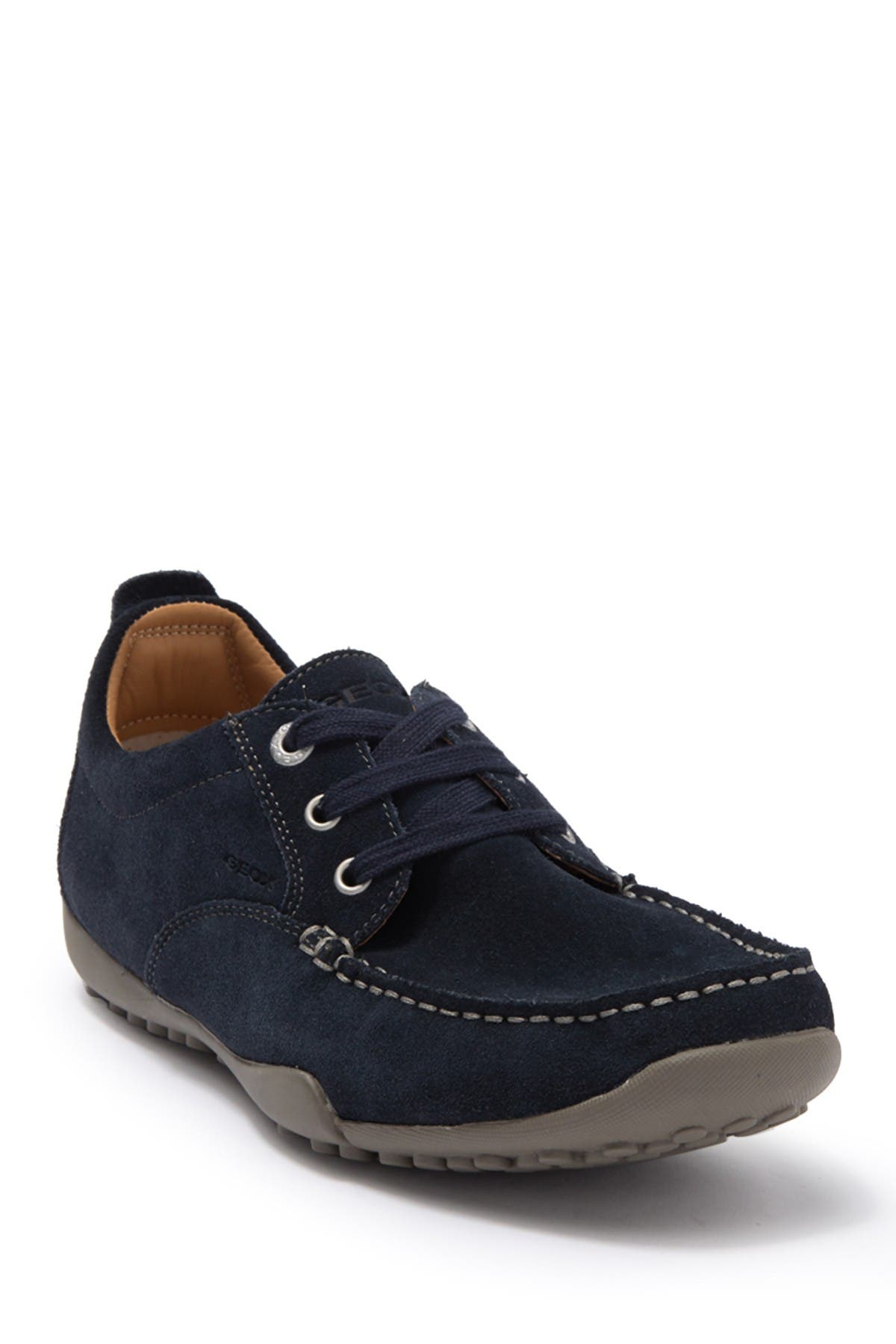 Image of GEOX Suede Driver Sneaker