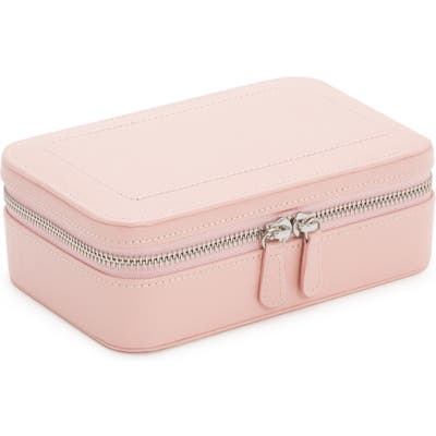Wolf Sophia Rectangle Zip Case - Pink