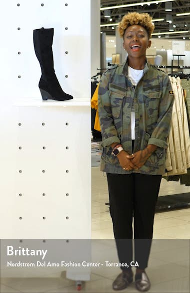 Energy Wedge Knee High Boot, sales video thumbnail