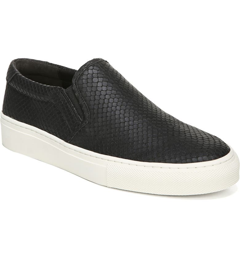 VIA SPIGA Sara Sneaker, Main, color, BLACK SNAKE PRINT LEATHER
