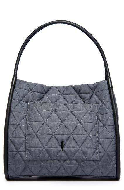 Image of THACKER Tery Quilted Tote Bag