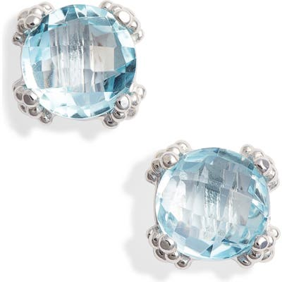 Anzie Small Cluster Topaz Stud Earrings