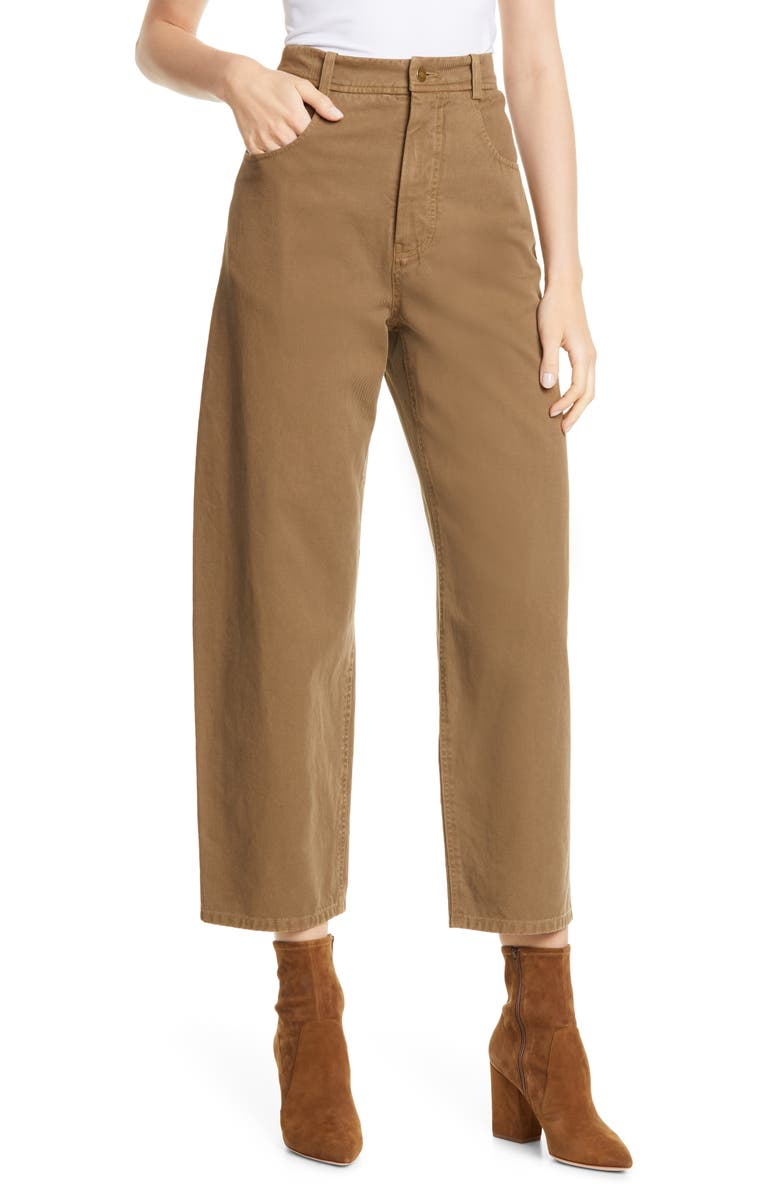 NILI LOTAN Sam Pants, Main, color, COYOTE BROWN