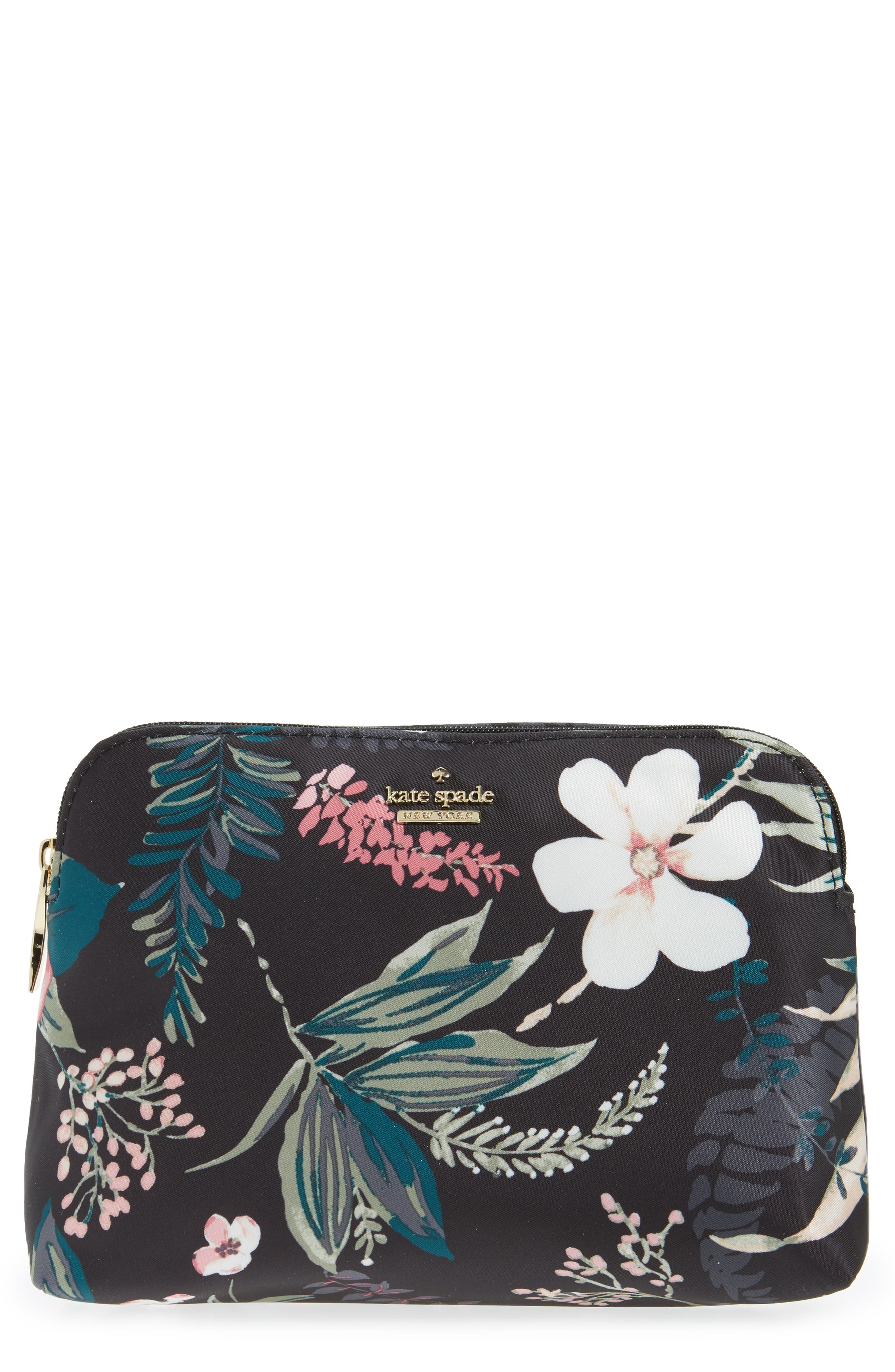 ,                             small classic briley nylon cosmetics case,                             Main thumbnail 12, color,                             003