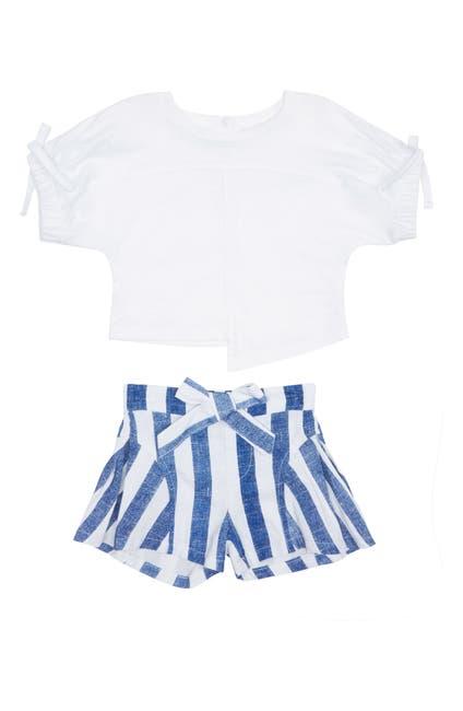 Image of Habitual Kenna Shirt & Stripe Shorts Set