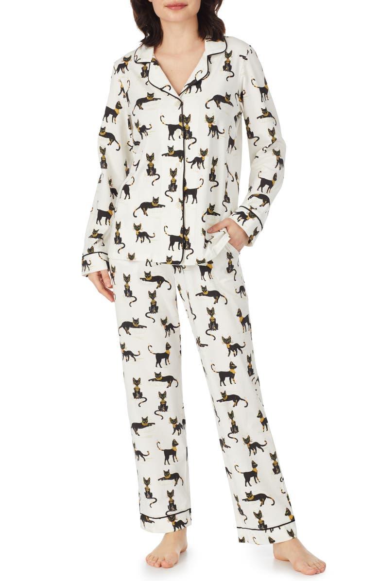 BEDHEAD PAJAMAS Print Stretch Cotton Pajamas, Main, color, 134