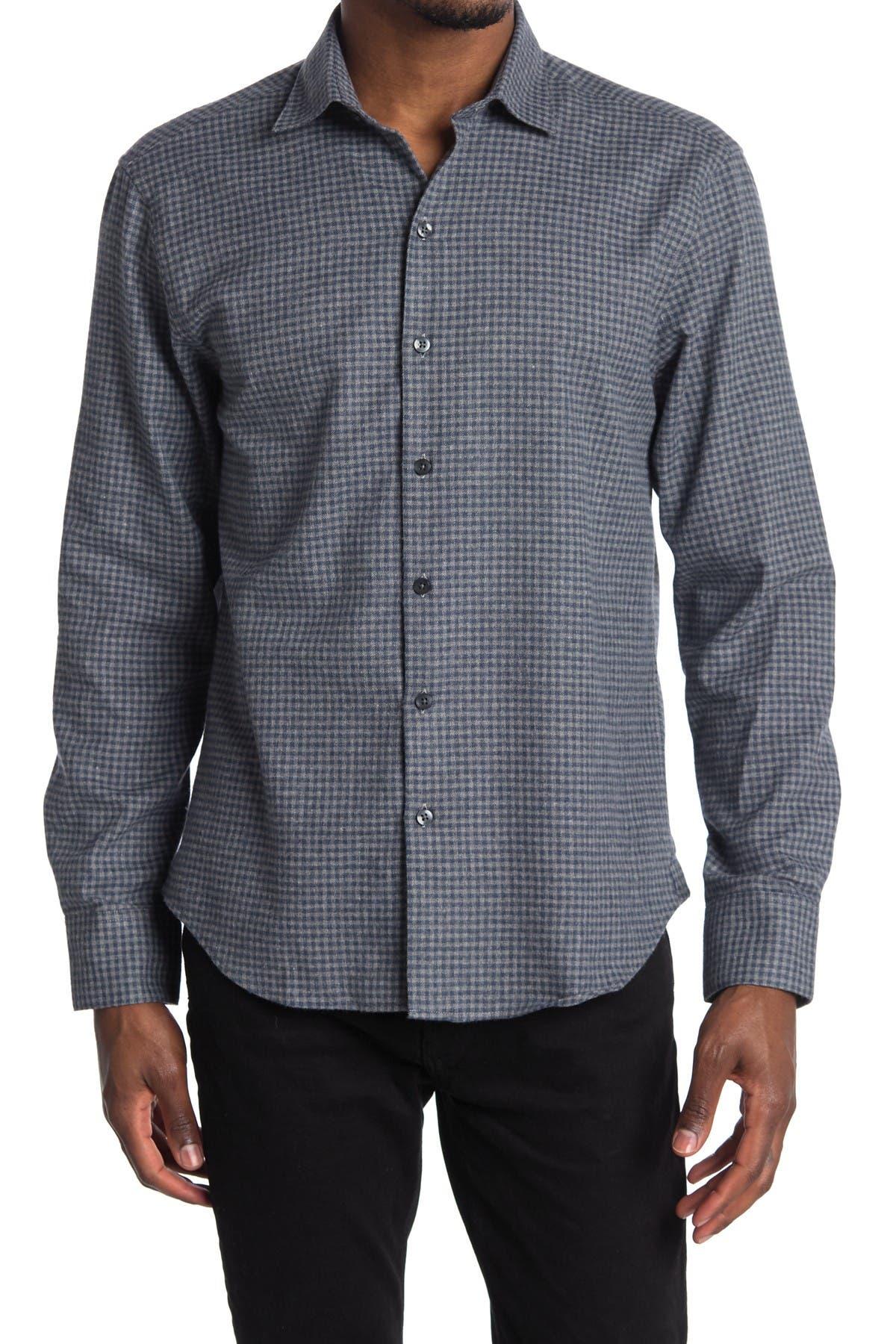 Image of ROBERT BARAKETT Brentwood Long Sleeve Woven Shirt