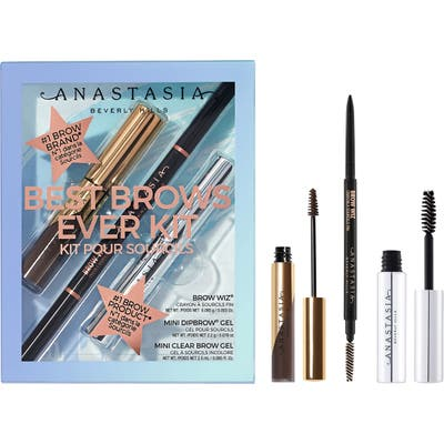 Anastasia Beverly Hills Best Brows Ever Set - Dark Brown