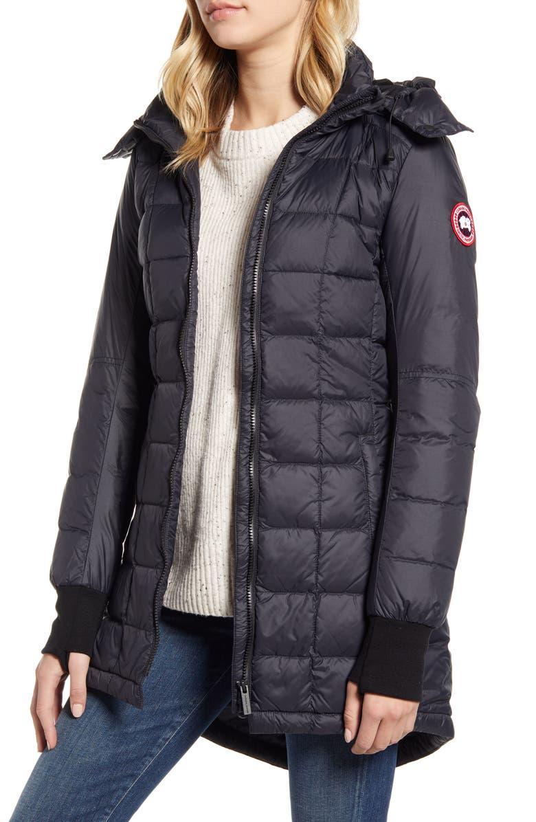 CANADA GOOSE Ellison Packable Down Jacket, Main, color, BLACK