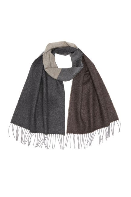 Image of Chelsey Imports Color Block Cashmere Scarf