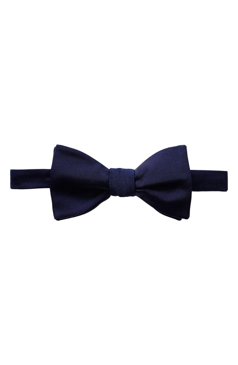 ETON Silk Bow Tie, Main, color, NAVY