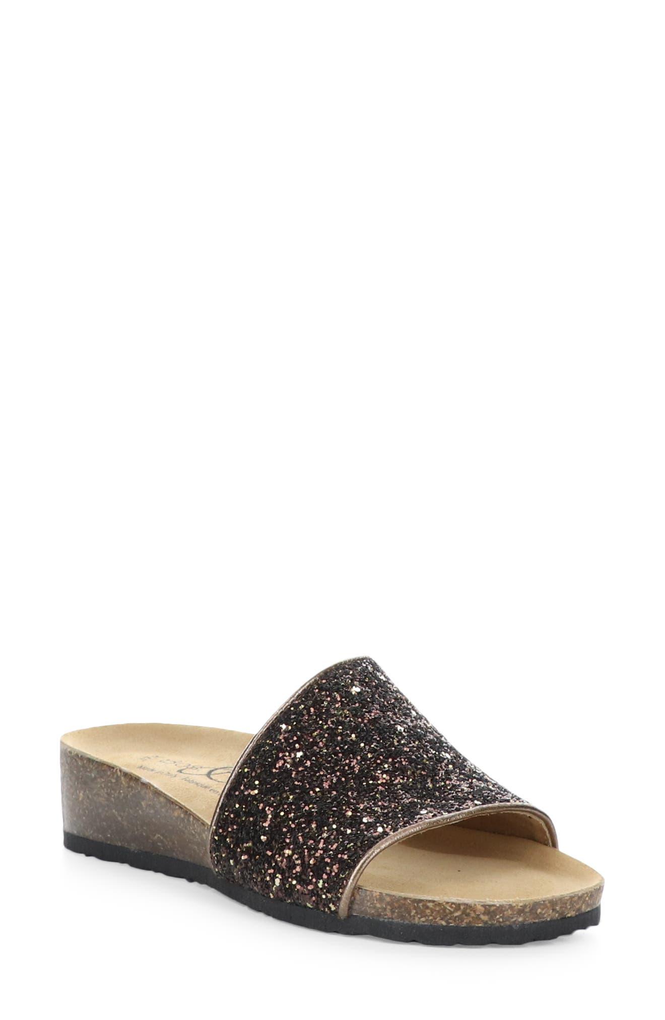 Glux Glitter Slide Sandal