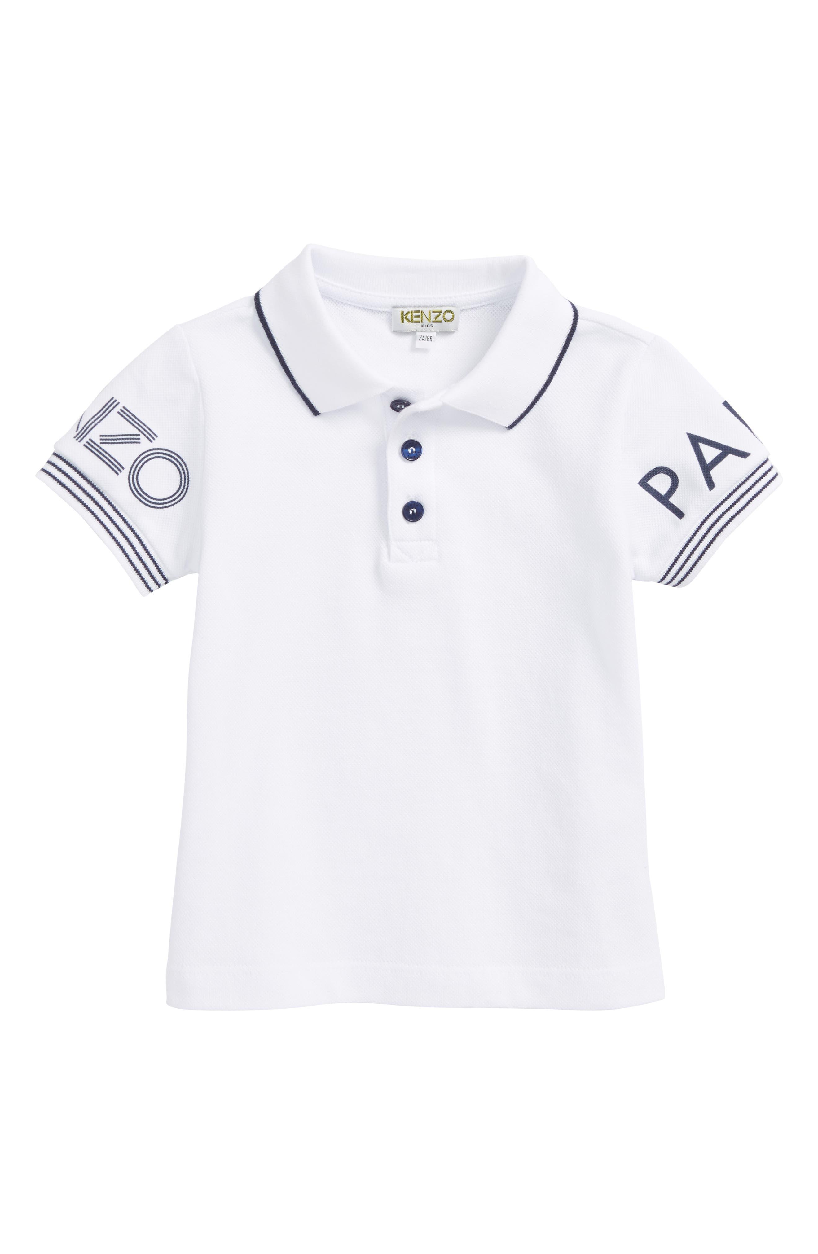 Boys Kenzo Logo Polo
