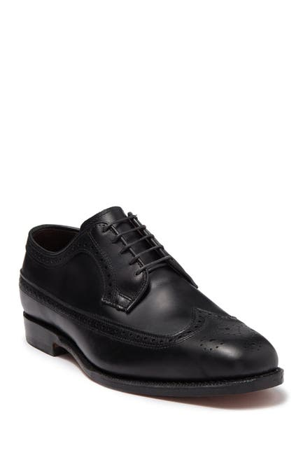 Image of Allen Edmonds Grandview Wingtip Leather Derby - Wide Width Available