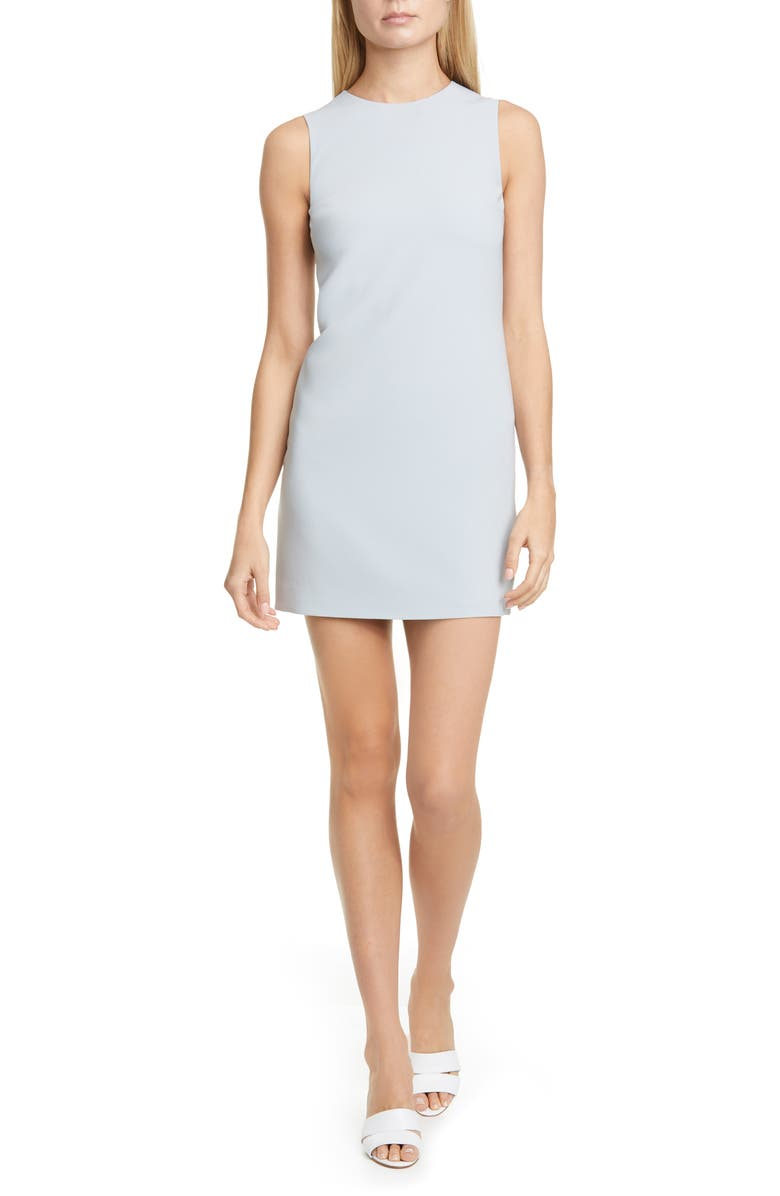 THEORY Classic Column Dress, Main, color, MIST BLUE